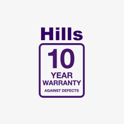 hills clothelines 10 year warranty