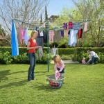 Hills Rotary 8 Washing line